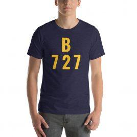 Boeing 727 Short-Sleeve Unisex T-Shirt