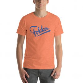 Fokker Short-Sleeve Unisex T-Shirt