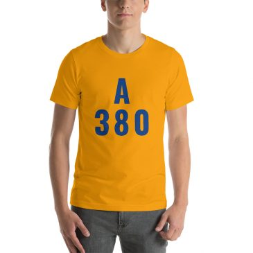 Airbus A 380 Short-Sleeve Unisex T-Shirt