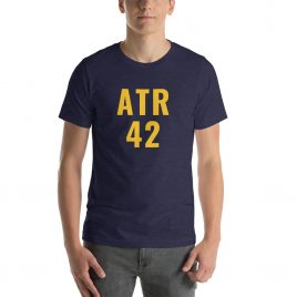 ATR 42 Short-Sleeve Unisex T-Shirt