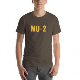 Mitsubishi MU-2 Short-Sleeve Unisex T-Shirt
