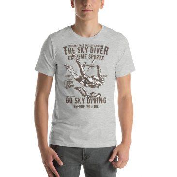 Sky Diver Short-Sleeve Unisex T-Shirt