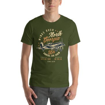 Wings Over Georgia Short-Sleeve Unisex T-Shirt