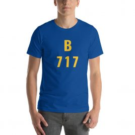 Boeing 717 Short-Sleeve Unisex T-Shirt
